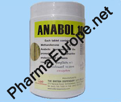 Anabol (Methandienone) 10mg x 1000 tablets