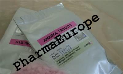 Anabol (Dianabol) (Methandienone) 5mg x 1000 Tabs
