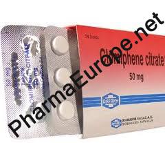 Clomiphene (Clomiphene Citrate)  (12 Tabs/50mg