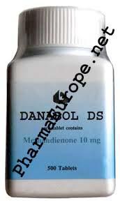 Danabol (Methandrostenolone) 500 Tabs/ 10mg