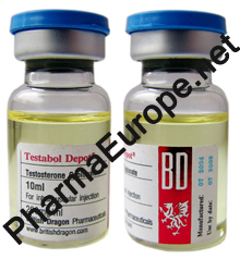 Testabol Depot / testosterone cypionate / British Dragon