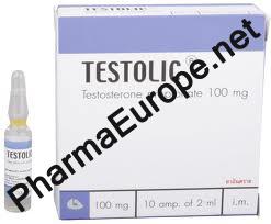 Testolic (Testosterone Propionate) 100mg/ml, 2ml amps