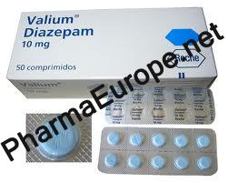 VALIUM (DIAZEPAM) 10mg 50tabs, Roche