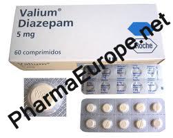 Valium (DIAZEPAM) / 5mg Roche / 60 tabs