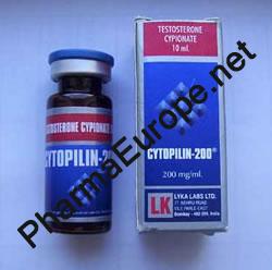 Cytopilin-200 (Testosterone Cypionate) 10ml  Vial / 200mg/1ml