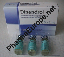 Dinandrol (40mg Nandrolone Phenylpropionate & 60mg Nandrolone Decanoate per ml) 2ml Vial)