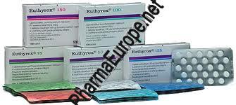 T4 Euthyrox (Levothyroxine Sodium) 100 Tabs/100mg
