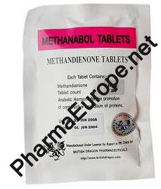 Methanabol (Methandienone) 10mg)