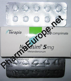 Naposim (Dianabol/Methandianone) 5mg 20tabs