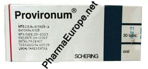 Provironum 25mg Schering