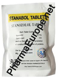 Stanabol 50mg British Dragon