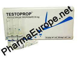 Testoprop (Testosterone Propionate) 10x1ml Amps./50mg/ml