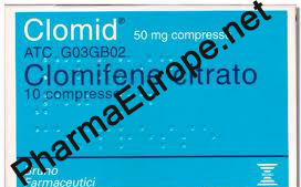 Clomid 50mg, Brunno Farmaceutici
