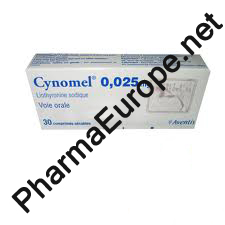 Cytomel / T3 / Cynomel / Liothyronine Sodium 0.25mg