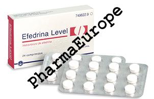 Efedrina Level 25mg (Efedrina Clorhidrato)