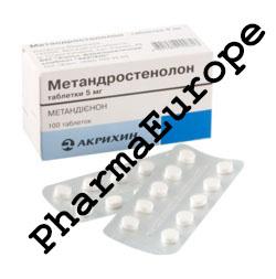 Methandrostenolon 100 tabs (5mg/tab) - Russian