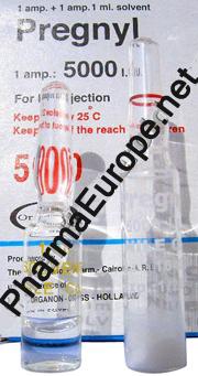 HCG / Pregnyl (Chorionic Gonadotropin) 5000 IU