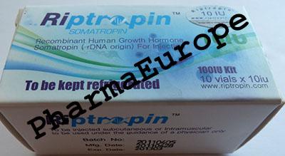 Riptropin 10IU(100IU/box) Somatropin, Hgh, Rgh