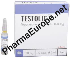 Testolic (Testosterone Propionate) 100mg/ml, 2ml amps