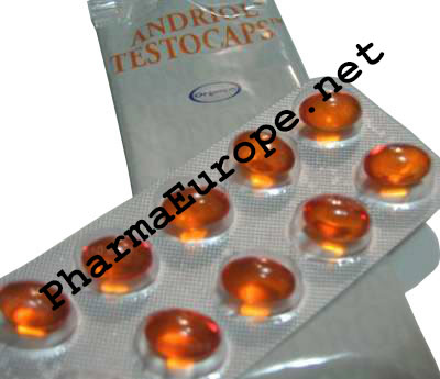 Andriol Testocaps (Testosterone Undecanoate) 60 capsules/40mg