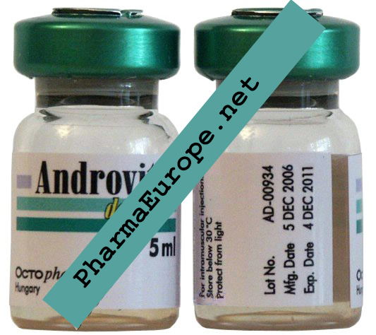 Androvit Depot (Testosterone Heptylate) 5ml  Vial / 250mg/1ml