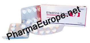 Efedrina Level 25mg (Efedrina Clorhidrato)