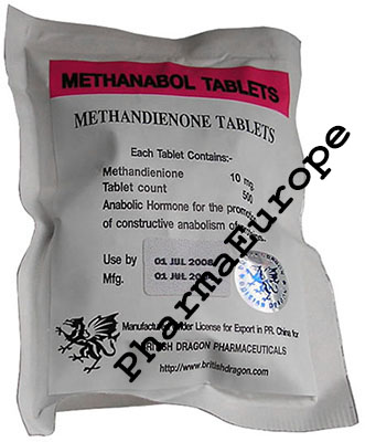Methanabol (Methandienone) 10mg)