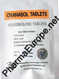 Oxanabol - British Dragon